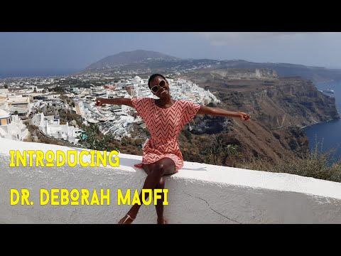 Introducing Dr. Deborah Maufi | Africa Web TV Presenter