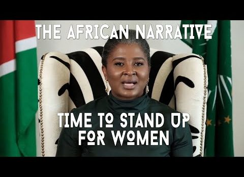 Monica Geingos | Powerful Message From The First Lady of Namibia | International Women's Day 2021